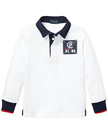Polo Ralph Lauren Little Boys CP-93 Cotton Rugby Shirt