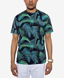 Sean John Men's Palm-Print T-Shirt