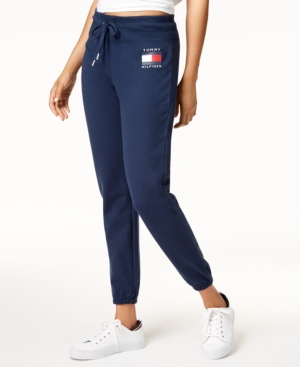Tommy Hilfiger SPORT LOGO SWEATPANTS, CREATED FOR MACY'S