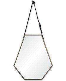 Koda Small Hexagon Mirror, Quick Ship