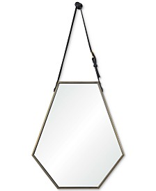 Koda Small Hexagon Mirror, Quick Ship