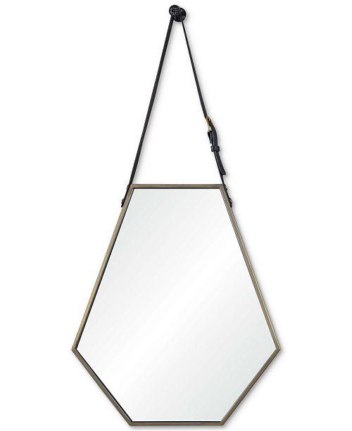 Furniture Koda Small Hexagon Mirror, Quick Ship