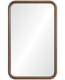 Dickens Wood Wall Mirror, Quick Ship