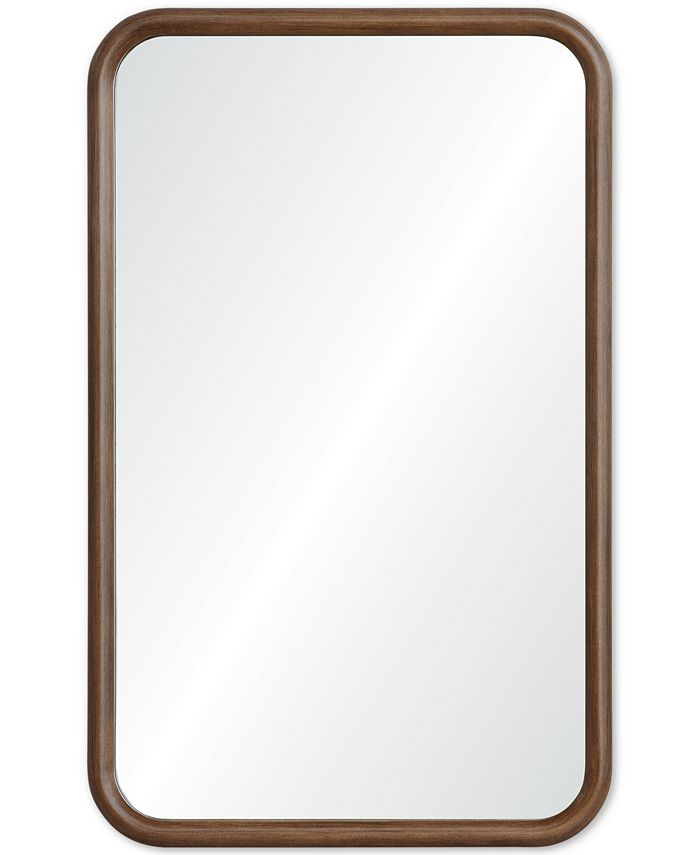 Furniture - Dickens Wood Wall Mirror, Quick Ship