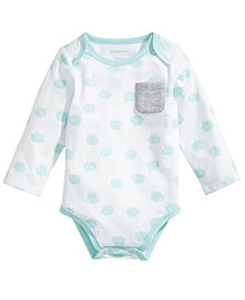 First Impressions Baby Boys Lamb-Print Bodysuit, Created for Macy's