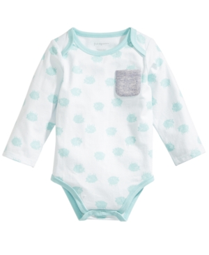 First Impressions Baby Boys LambPrint Bodysuit Created for Macys