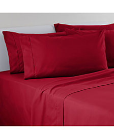 IZOD Solid Microfiber 6-Pc Full Sheet Set