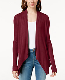 I.N.C. Draped Cardigan, Created for Macy's