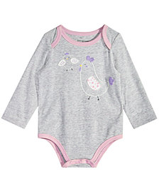 First Impressions Baby Girls Graphic-Print Bodysuit, Created for Macy's