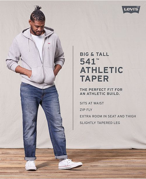 570b6f4204e Levi's Men's Big and Tall 541 Athletic Fit Jeans & Reviews - Jeans ...