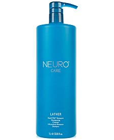Paul Mitchell Neuro Care Lather HeatCTRL Shampoo, 33.8-oz., from PUREBEAUTY Salon & Spa