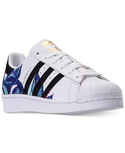 timeless design 5ed03 5c224 ... adidas Womens Superstar Casual Sneakers from Finish ...