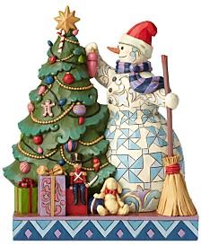 Jim Shore Snowman Decorating Tree