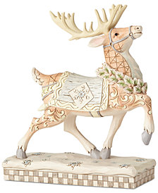 Jim Shore Woodland Prancing Reindeer Figurine