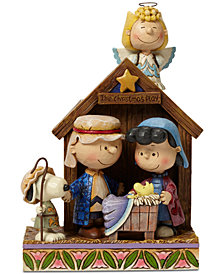 Jim Shore Peanuts Nativity Figurine