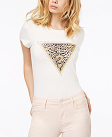 GUESS Embellished Graphic T-Shirt