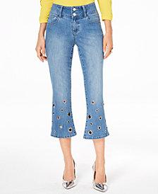 Thalia Sodi Embellished Flare-Leg Jeans, Created for Macy's