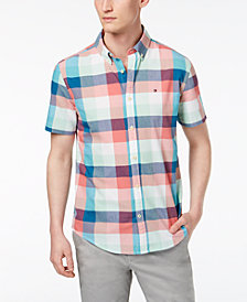 Tommy Hilfiger Men's Slim Fit Plaid Shirt