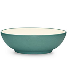 Noritake Dinnerware, Colorwave Turquoise Cereal/Soup Bowl