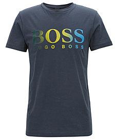 BOSS Men's Dégradé Logo-Graphic Cotton T-Shirt