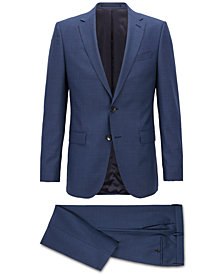 BOSS Men's Slim-Fit Virgin Wool Suit