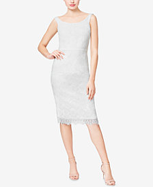 Betsey Johnson Sleeveless Lace Midi Dress