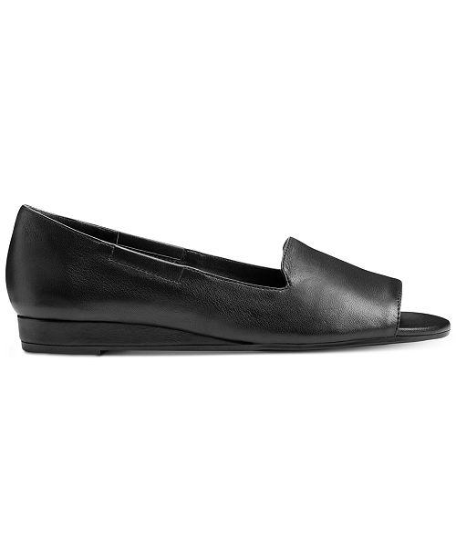 92cdab5a105e Aerosoles Tidbit Peep-Toe Flats   Reviews - Flats - Shoes - Macy s