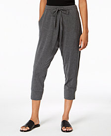 Eileen Fisher Cropped Drawstring Pants, Regular & Petite