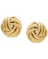 628d0067170d4 Love Knot Earrings - Macy's