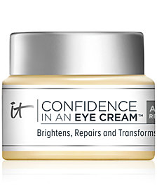Receive a FREE Deluxe Confidence in an Eye Cream with any $40 It Cosmetics purchase