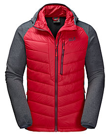 Jack Wolfskin Men's Skyland Crossing Hooded Full-Zip Jacket from Eastern Mountain Sports