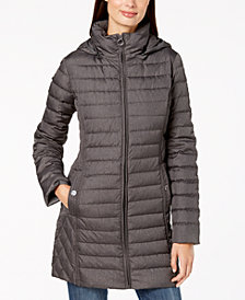 MICHAEL Michael Kors Hooded Packable Down Puffer Coat