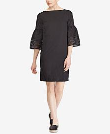 Lauren Ralph Lauren Poplin Shift Dress