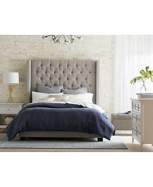 Furniture Monroe Upholstered Full Bed