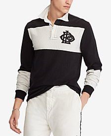 Polo Ralph Lauren Men's Big & Tall Classic Fit Cotton Rugby Shirt