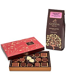 Godiva Chocolate Truffle Coffee & Chocolate Biscuit Gift Set