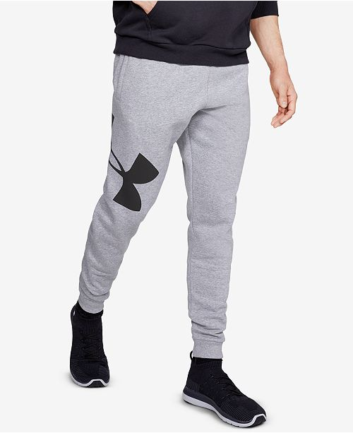 9c32e2cbd804 Under Armour Men s Rival Fleece Logo Joggers   Reviews - All ...