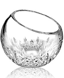Waterford Crystal Gifts, Lismore Essence Angled Rose Bowl Vase 6""