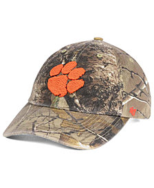 '47 Brand Clemson Tigers CLEAN UP Strapback Cap