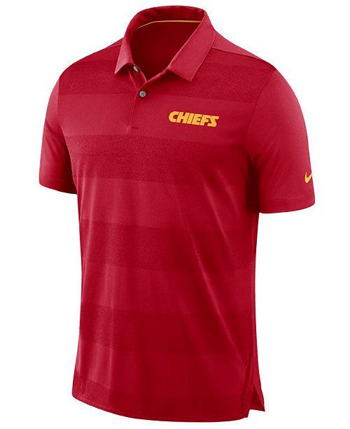 Nike Men s Kansas City Chiefs Early Season Polo - Sports Fan Shop By ... a33c61213