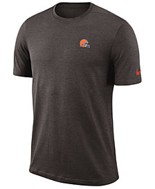 Nike Men's Cleveland Browns Coaches T-Shirt