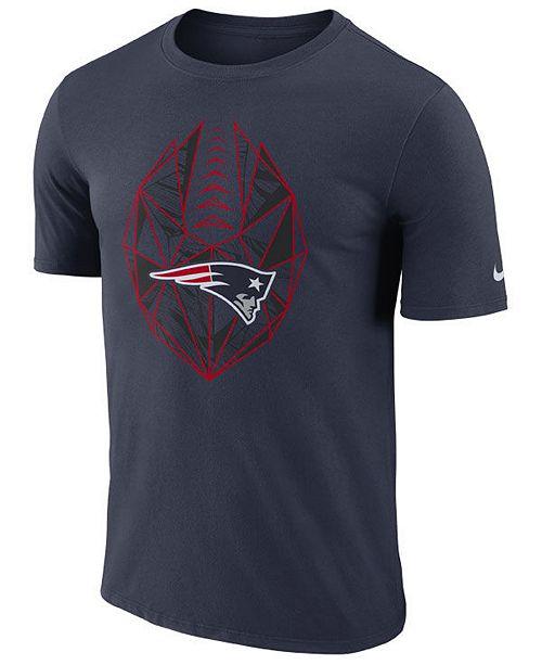 Nike Men's New England Patriots Icon T-Shirt
