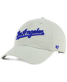 '47 Brand Los Angeles Dodgers Core CLEAN UP Strapback Cap