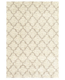 "Karastan Prima Shag Temara Lattice 10' 6"" x 13' 2"" Area Rug"
