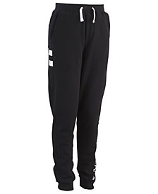 Calvin Klein Big Boys Side Stripe Fleece Pants
