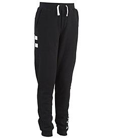 Calvin Klein Big Boys Side Stripe Fleece Pants