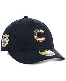 New Era Chicago Cubs Stars and Stripes Low Profile 59FIFTY Fitted Cap 2018