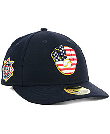 New Era Milwaukee Brewers Stars and Stripes Low Profile 59FIFTY Fitted Cap 2018