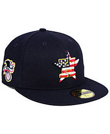 New Era Boys' Houston Astros Stars and Stripes 59FIFTY Fitted Cap