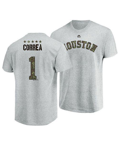 ... Majestic Men s Carlos Correa Houston Astros Camo Player T-Shirt ... 3f94e1cd6
